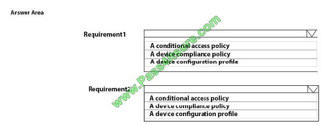 pass4itsure md-101 exam question q13-1
