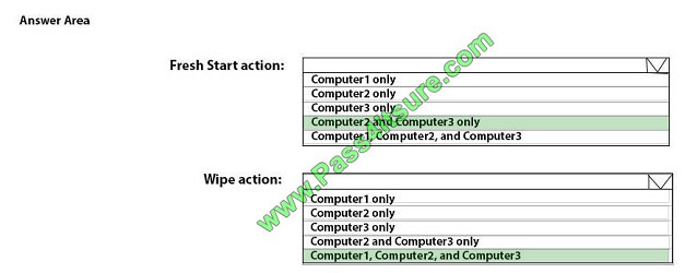 pass4itsure md-101 exam question q9-2