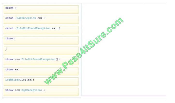 Pass4itsure 70-483 exam questions-q11